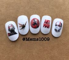 Ant Man Nail art (water decals) Marvel Ant Man Nail Art Decals