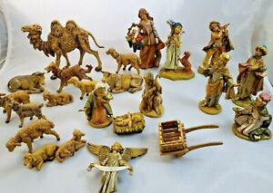 Fontanini Nativity Figurines Set 24 Pieces Christmas Christian Religious Decor