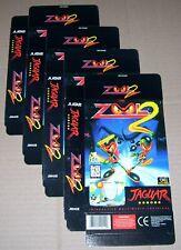 Atari Jaguar 64-Bit Games Console Original 4 x ZOOL 2 Game Box NEW P/N: J9042E