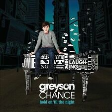 Greyson Chance - hold on 'til the night - music CD - brand new sealed