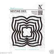 X cut 5 pc nesting dies 'four petal' Use Xcut, sizzix, big shot machines