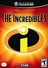 The Incredibles  (Nintendo GameCube, 2004)  No instruction booklet disney pixar