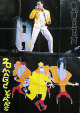 Poster Manifesto – FREDDIE MERCURY QUEEN 20 Magic Years - 80 x 55 cm