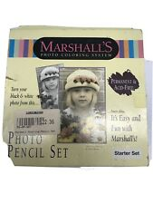 Marshall's Photo Coloring System Colorful Creations Starter Pencil Set Unused