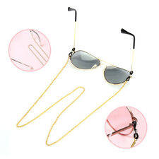 Fashionable Glasses Rope 2pcs Gold Women Glasses Chain 27.6in Mother for Women