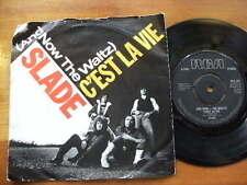 SLADE 1982<AND NOW THE LAST WALTZ C'EST LA VIE>45RPM 7in SINGLE RECORD