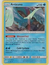 Pokemon TCG SM Team Up 32/181 Articuno Holographic Rare Card