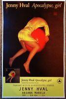 JENNY HVAL 2015 Gig POSTER Portland Oregon Concert Version 2 Apocalypse Girl