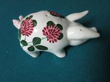 Plichta Pottery of London, pig figurine, it may be a salt/pepper shaker [A*]