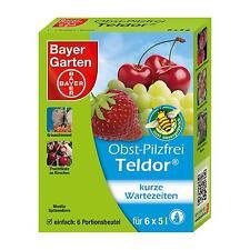 Bayer Garten Obst Pilzfrei Teldor 30g - Grauschimmel Monilia Pilze Fruchtfäule