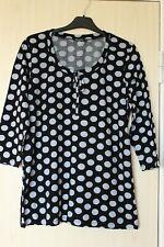Marimekko PENNING Cotton Polka Dot Shirt Size L