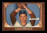 1955 Bowman Set Break #316 Marion Fricano VG-EX Crease *OBGcards*