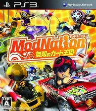 Used PS3 ModNation Racers PLAYSTATION 3 SONY JAPAN JAPANESE IMPORT