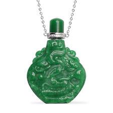 """Jade Plata Esterlina 925 Cubic Zirconia Collar de Botella de circonia cúbica tamaño 18"""" CT 346.8"""