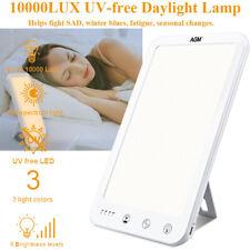 10000Lux Lichttherapie Lampe 3 Modi SAD Tageslichtlampe LED Tageslicht Lampe