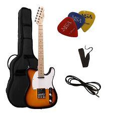 E-Gitarre TC-sunburst, Set mit Tasche + Band + 3xPiks/Plektren + Anschlußkabel !