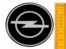 OPEL ★ 4 Stück ★ SILIKON Ø70mm Aufkleber Emblem Felgenaufkleber Radkappen