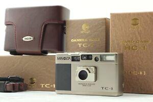 [UNUSED in Box] Minolta TC-1 Silver Point & Shoot 35mm Film Camera From Japan