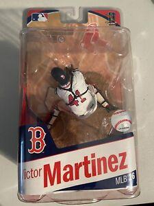 McFarlane 2010 Victor Martinez Boston Red Sox MLB Series 26 White Jersey