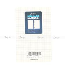 Filofax Pocket Organiser Planner Notebooks Squared Paper Refill - 122905 Gift