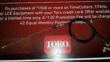 Toro HXL Lawn Tractor Deck Engagment Cable OEM 99-6837, 94-4293 Toro Deck Cable