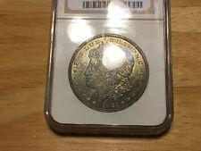 1921 D Morgan Silver Dollar NGC MS 64 Green Toning, NO RESERVE!! FREE SHIPPING