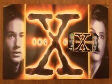 RARE 1996 BT X Files Phone Card - Special Presentation Folder MINT UNUSED