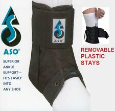 ASO Ankle Brace Stabilizer Plastic Stays - Ankle sprain & instability * Sports