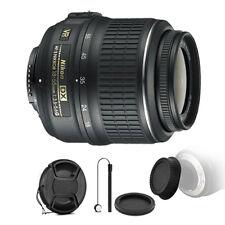 Nikon AF-P DX NIKKOR 18-55mm Lens for Nikon DSLR Cameras & Accessory Kit