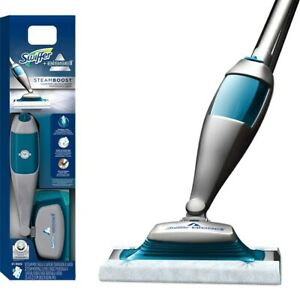 Swiffer Bissell Steamboost Steam Mop Wet Cleaner Starter Kit BRAND NEW