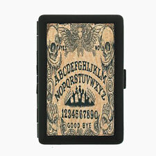 Ouija D3 Black Cigarette Case / Metal Wallet Occult Witchcraft Spirits