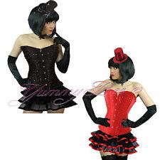 Corset Tutu Skirt Hen Party Burlesque Fancy Dress Costume Halloween Plus Size UK