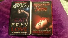 Kerrelyn Sparks Love at stake series lot of 2 Books eat prey love