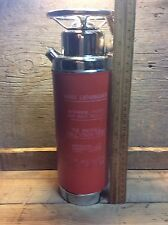 Vintage Thirst Extinguisher Musical Thermos, Decanter