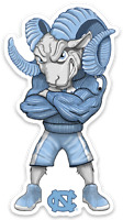 UNC University of North Carolina Tar Heels Rameses Mascot MAGNET