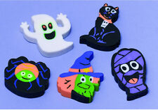 NEW* 12 HALLOWEEN Erasers Favours loot fillers trick or treat gifts Party Prizes