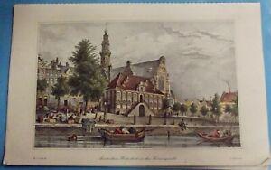 Amsterdam,Westerkerk an der Keixersgracht ,Amsterdam, Wester an der Keizersgrach