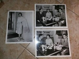 3 Vintage 8 x 10  Photos of Dolores Del Rio from her Movie career. DS9082