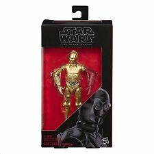 "C-3PO RESISTANCE BASE ( 6"") STAR WARS ( THE BLACK SERIES ) HTF ACTION FIGURE #29"