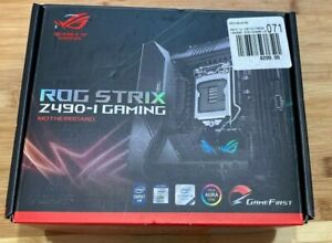ASUS Rog Strix Z490-I LGA 1200 Mini-ITX, Intel Motherboard and IO shield ONLY!