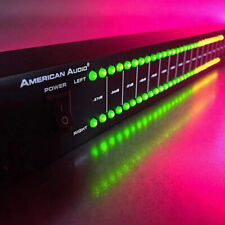 Dual 40 Spectrum Audio Led Stereo Level Indicator Professional Stage Amplifier