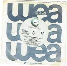 """JOHN LENNON - (JUST LIKE) STARTING OVER - 7"""" 45 VINYL RECORD - 1980"""