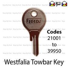 WESTFALIA DETACHABLE TOWBAR KEY (21001 to 39950) VW, Cayenne, Audi Q7, BMW
