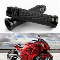 Universal Motorrad Lenkergriffe Lenker Griffe Aluminium & Gummi für 22mm Roller