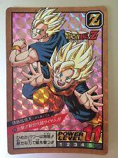 Carte Dragon Ball Z Power Level / Super Battle Part 8 Double Prism Card #309