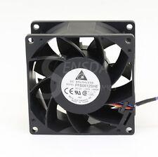 Delta Electronics FFB0812SHE 80mm DC12V 0.87A Server Cooling Fans Server Square