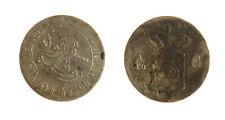s1170_219) NETHERLANDS INDIES - INDIE OLANDESI 1/10 GULDEN  AG 1854