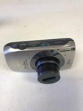 Canon PowerShot ELPH 500 HS (IXUS 310 HS) - 12.1MP Digital Cam - Silver Untested