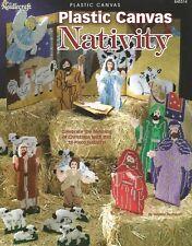 Nativity Scene Plastic Canvas Patterns Booklet 18 pieces The Needlecraft Shop