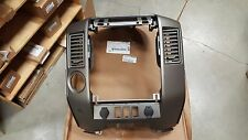 BRAND NEW OEM CENTER DASHBOARD CLUSTER FINISHER  PANEL 2006 NISSAN TITAN ARMADA